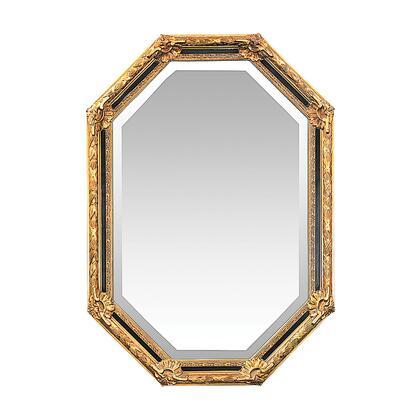 Sterling 402376M Inlay Octagon Series Irregular Portrait Wall Mirror