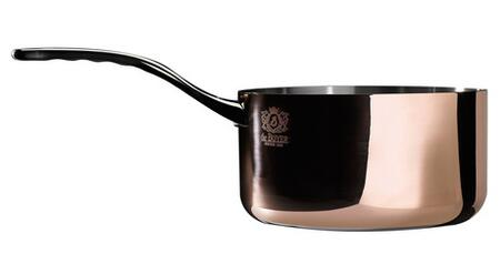 Eurodib 6206 Prima Matera Sauce Pan By De Buyer With Special Induction Base, Unique Range, Ferro-Magnetic Bottom And High-End Mirror Polishing.