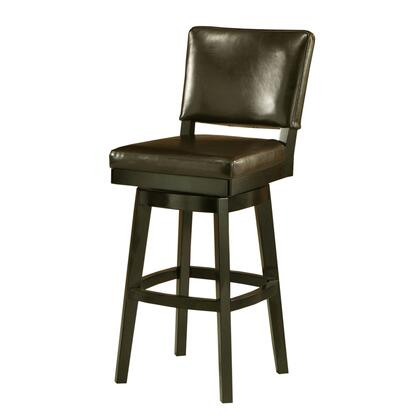 Pastel Furniture QLRC2193278 Richfield 26 in. Counter Height Swivel Barstool