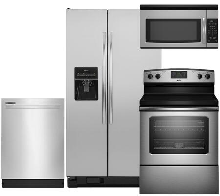 Amana AMA4PCFSSBSEFISSKIT1 Kitchen Appliance Packages