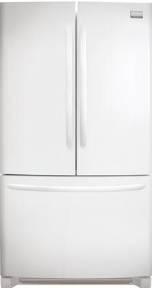 Frigidaire FGUN2642LP Gallery Series  French Door Refrigerator with 25.8 cu. ft. Total Capacity 4 Glass Shelves
