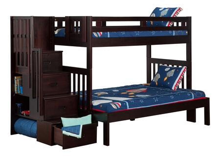 Atlantic Furniture AB63701  Twin over Full Size Bunk Bed