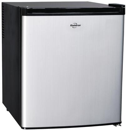 "Koolatron 40B 20"" Compact Refrigerator with 1.7 cu. ft. Capacity in Stainless Steel"