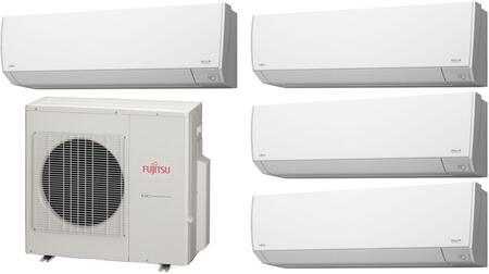 Fujitsu 935435 Halcyon Quad Zone Mini Split Air