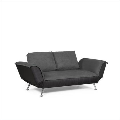 Lifestyle Solutions CATYLD2GF Casual Convertibles Series Convertible Fabric Sofa