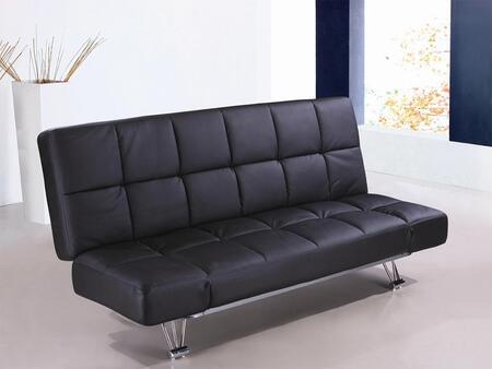 J and M Furniture 1754421PU  Convertible Vinyl Sofa
