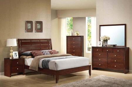 Acme Furniture 20397EK5PCSET Ilana King Bedroom Sets