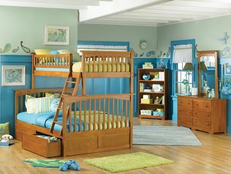 Atlantic Furniture COLTFCL  Twin Size Bed