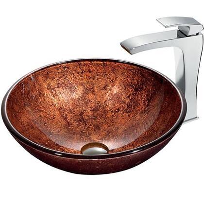 Vigo VGT179 Chrome Bath Sink