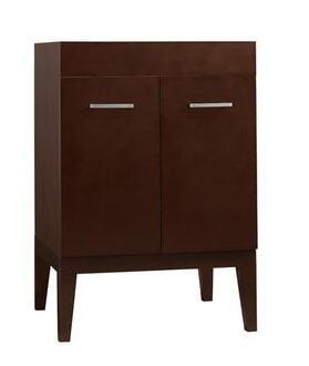 "Ronbow 037023-7- Venus 23"" Wood Vanity Cabinet with Two Doors, One Hidden Drawer, and Wood Legs:"