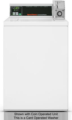 """Speed Queen SWNBY2PP112TW01 26"""" 3.26 cu. ft. Top Load Washer, in White"""