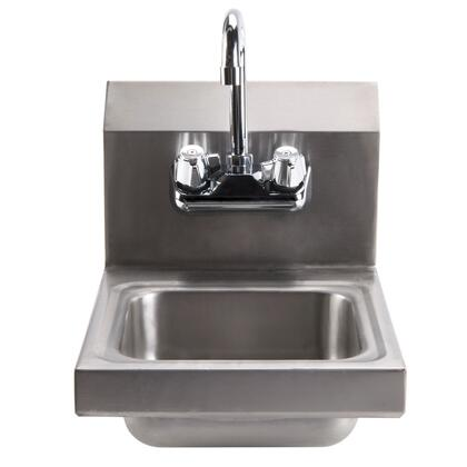 Advance Tabco 7-PS-23-EC Economy Wall Mounted Hand Sink with Splash Mount Gooseneck Faucet