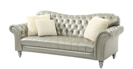 Glory Furniture G704S  Faux Leather Sofa