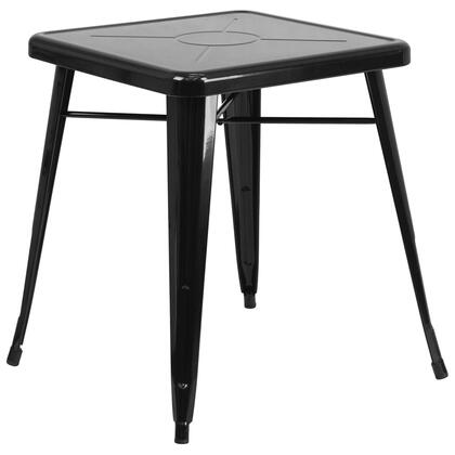 "Flash Furniture CH3133029BKGG 27.75"" Bistro Table"