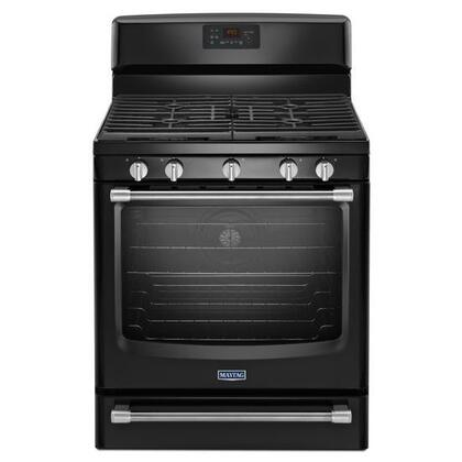 Maytag MGR8700D 5.8 cu. ft. Freestanding Range with Convection Oven, 17,000-BTU Power Burner, EvenAir Convection, Variable Broil and Die-Cast Metal Knobs in
