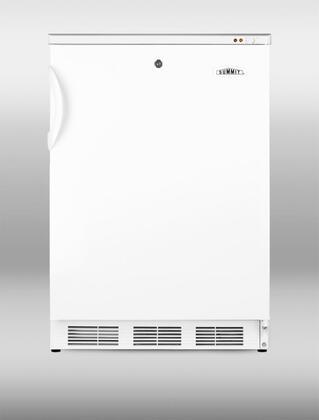 "Summit VT65ML724"" Freestanding Upright Counter Depth Freezer"
