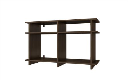 Accentuations 15AMC Accentuations by Manhattan Comfort Suitable Wellington TV Stand with 4 Open Shelves