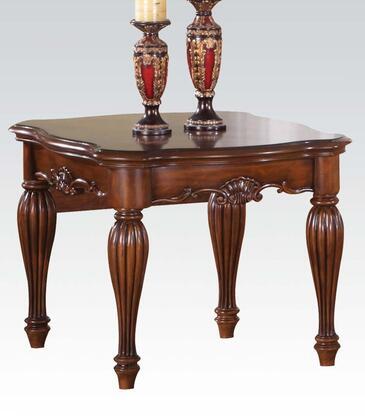 Acme Furniture 10291 Dreena Series Traditional Wood Rectangular End Table