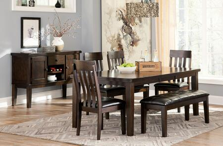 Signature Design by Ashley D596T4CBS Haddigan Dining Room Se