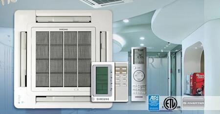 Samsung H140CAV Mini-Split Air Conditioner Air Conditioner Cooling Area,