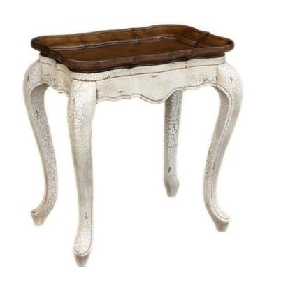 Gail's Accents 30017LT Belini Series Contemporary Rectangular End Table