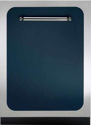 "Heartland HCDWI1CBL 24"" Classic Series Built In Fully Integrated Dishwasher with 15 Place Settings Place Settingin Blue"