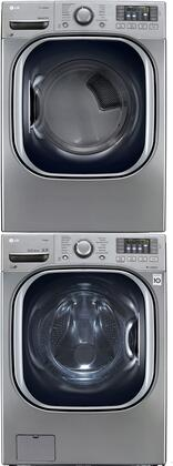LG WM4370HVAGDSTKPAIR1 Washer and Dryer Combos