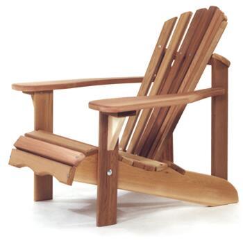 All Things Cedar CA14U  Aidrondack Chair