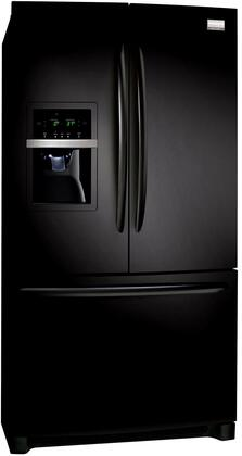 Frigidaire FGHF2369ME Gallery Series Counter Depth French Door Refrigerator with 22.6 cu. ft. Total Capacity 4 Glass Shelves