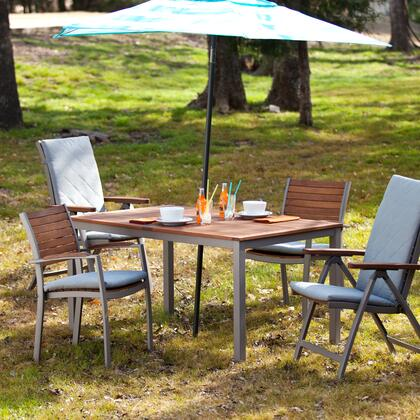 Holly & Martin OD2X10 Mandalay Outdoor Rectangular Table