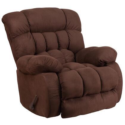Flash Furniture WM920053 Contemporary Softsuede Microfiber Rocker Recliner