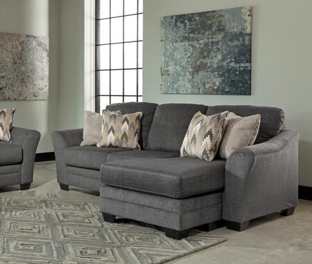 Benchcraft Braxlin Series Sofa and Chaise Fabric Sofa