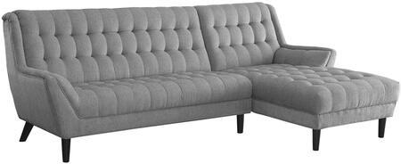 Coaster 503777 Natalia Series Stationary Fabric Sofa