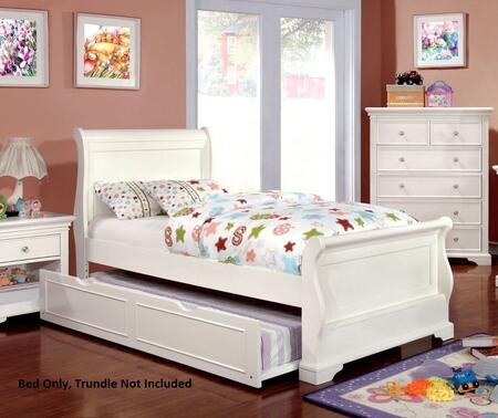 Furniture of America CM7944WHFBED Mullan Series  Full Size Bed