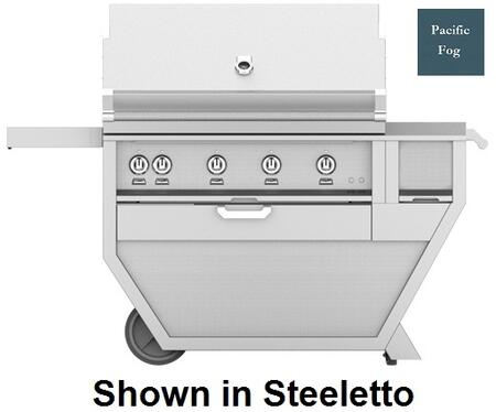 60 in. Deluxe Grill with Worktop   Pacific Fog