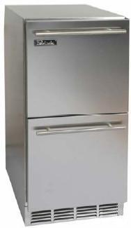 Perlick HP15RO5DNU  Compact Refrigerator in Stainless Steel