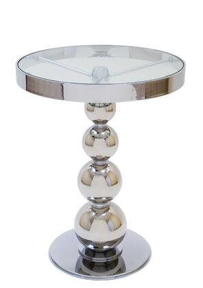 Allan Copley Designs 2090502 Contemporary Round End Table