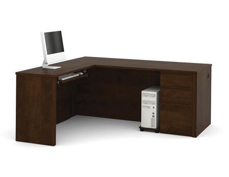Bestar Furniture 99860 Prestige + L-shaped workstation
