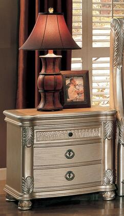 Yuan Tai BE7003N Bellevue Series Rectangular Wood Night Stand
