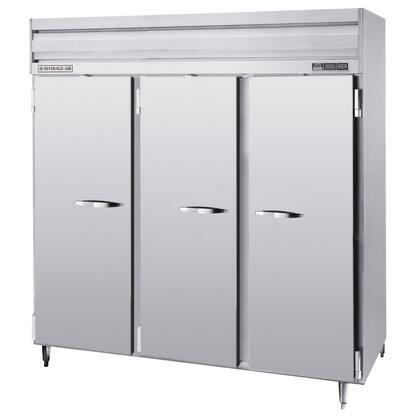 PRF48-24 Three Section [Half Door] Dual Temperature Reach-In Refrigerator/Freezer