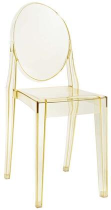 Modway EEI122YLW Casper Series Modern Not Upholstered Polyblend Frame Dining Room Chair