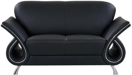 Global Furniture USA U559LVBLL Trevis Series  Loveseat