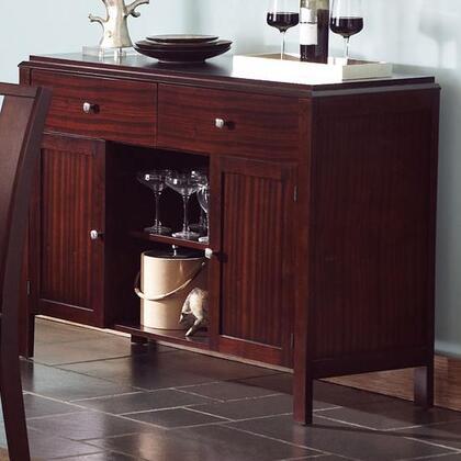 Coaster 102945 Prewitt Series Server Wood 2 Drawers Cabinet