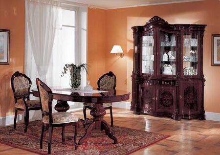 VIG Furniture VGFMREGINADTMHG8PCSET Regina Dining Room Table