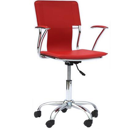 "Modway EEI198RED 22"" Adjustable Contemporary Office Chair"