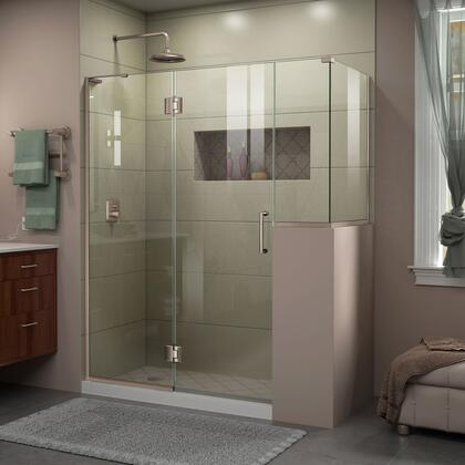 DreamLine Unidoor X Shower Enclosure 24HP 24D 12BP 30RP 04