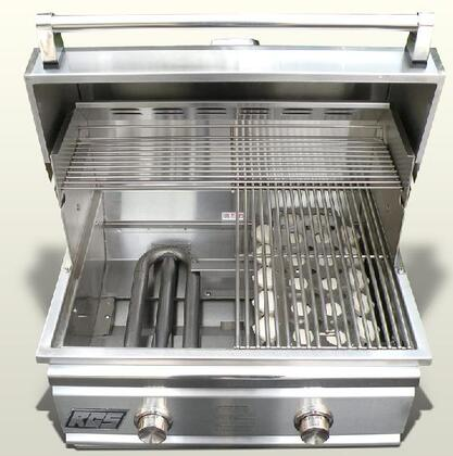 RCS TRBO26NG  Built In Grill, in Stainless Steel
