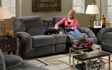 73X1735 38 GENS 30394 AC%20Douglas%20Reclining%20Console%20Loveseat%20with%20Sound%20Argos%20Charcoal
