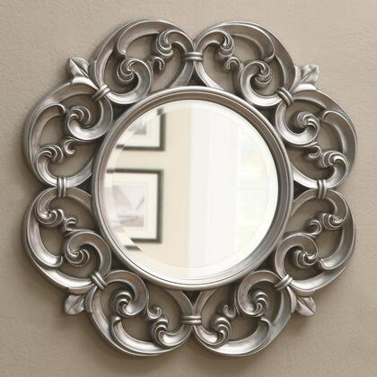 Coaster 900699 Accent Mirrors Series Round Portrait Wall Mirror