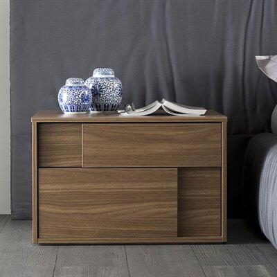 Rossetto T411200010001 Rossetto Series  Wood Night Stand
